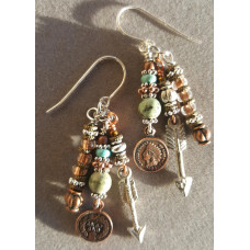 A Penny For Your Thoughts Earrings