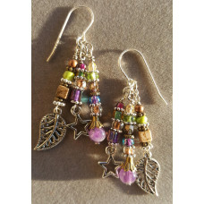 Purple Paradise Earrings