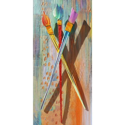 Three Paint Brushes (small)