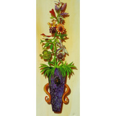 Violet Flower Arrangement