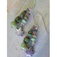 Deep Forest Earrings