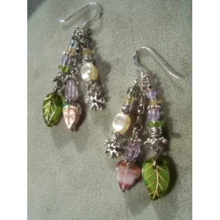 Garden delight earrings by Robert Shields