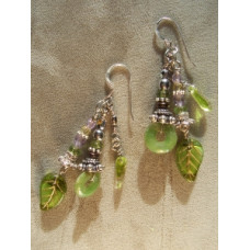 Garden muse earrings by Robert Shields