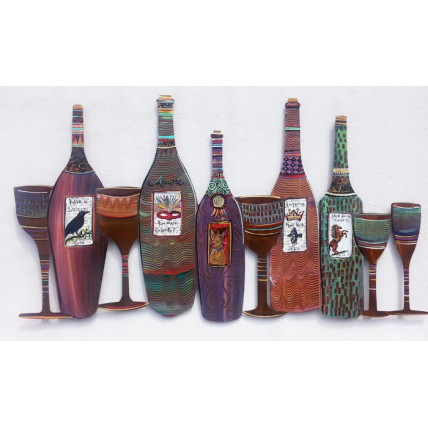 Whimsical Wine Bottles