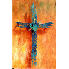 Patinated Rustic Cross
