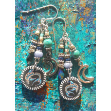 Bluefish Moon Earrings