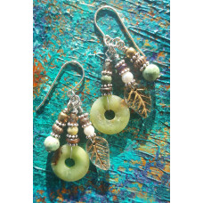 Jade Treasure Earring