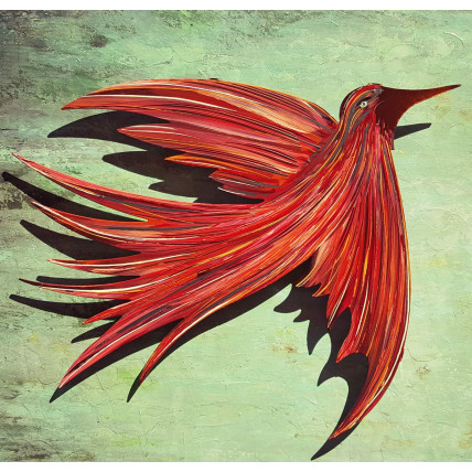 Red Spirit Bird