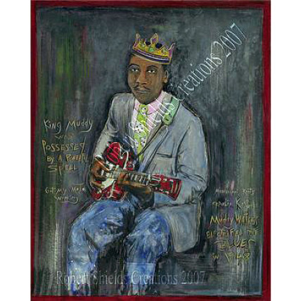 "Muddy Waters 18""x24"" by Robert Shields"