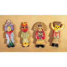 Kachina Team Magnets by Robert Shields