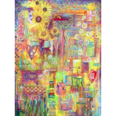 """Ode to Spring  - Giclee -16""""x20"""" by Robert Shields"""