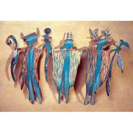Patina Turquoise Shaman Group