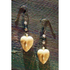 Sweetheart Earrings by Robert Shields