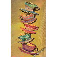 Five Stacked Cups