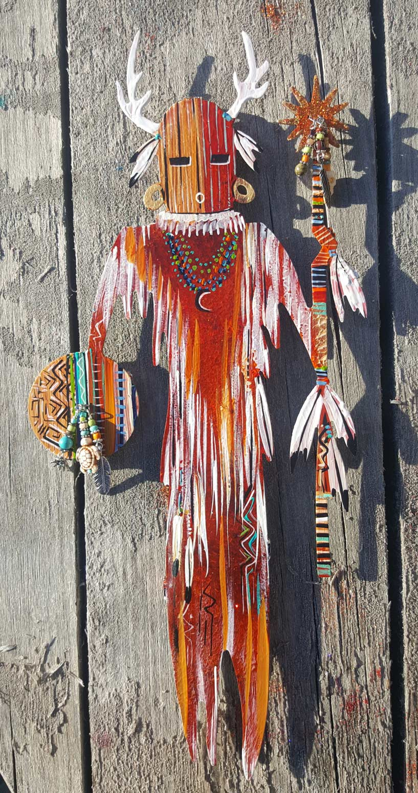 Kachina Red Feather