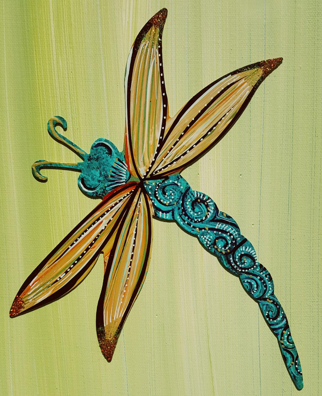 Turquoise Dragon Fly