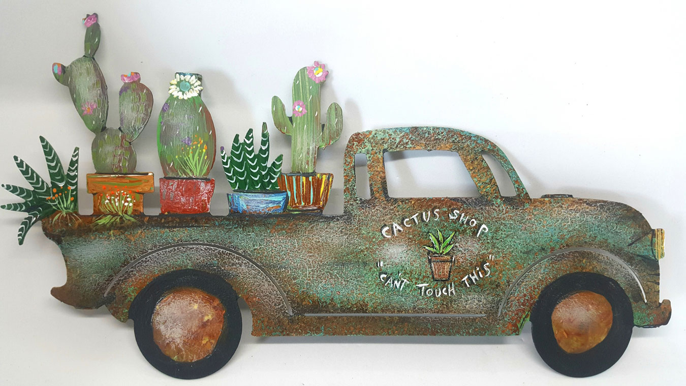 """Cactus Delivery Truck """"Can't Touch This"""""""