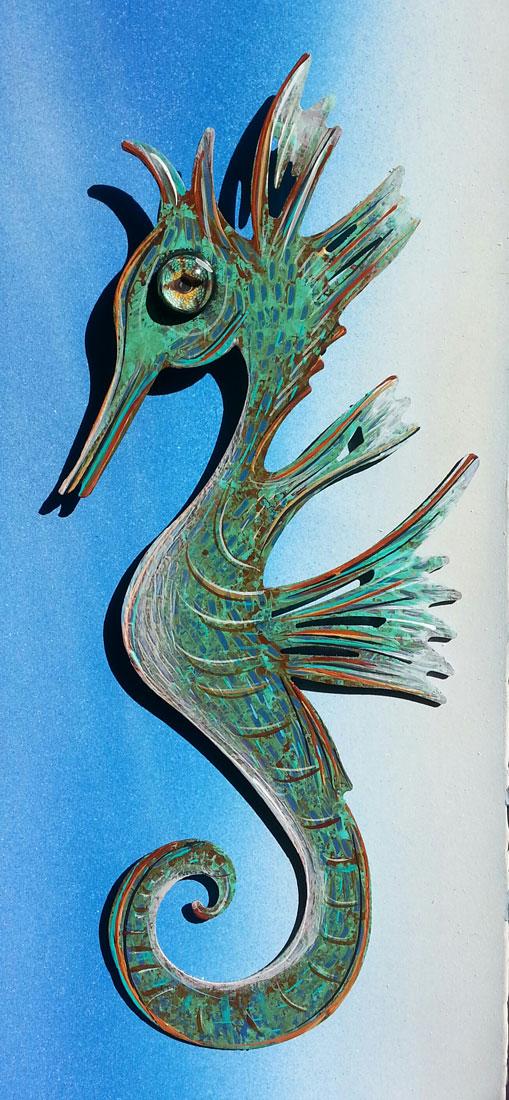 Mystic Seahorse (Medium)