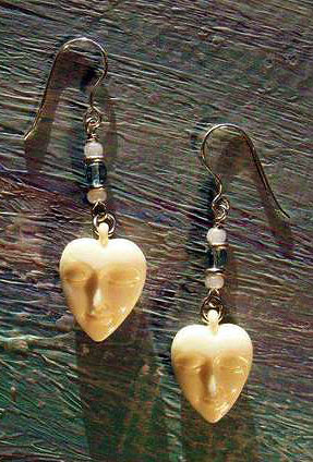 Sweetheart Earrings by Robert Shields