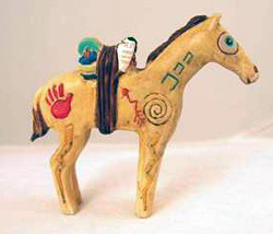 Small Bundle Pony by Robert Shields