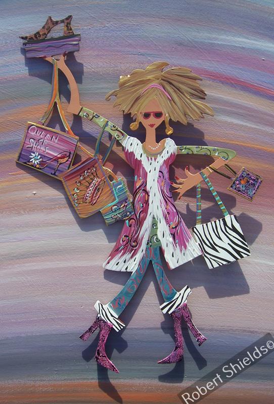 Queen Of Shoes - Blonde